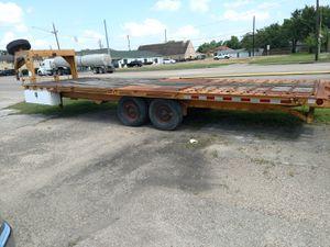 25ft 8ton gooseneck trailer for Sale in Houston, TX