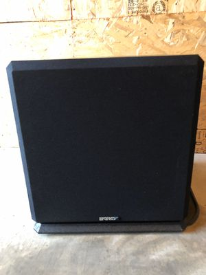 ENERGY AS-90 Subwoofer 12 inch for Sale in Crystal Lake, IL