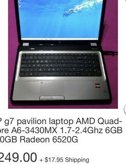 Laptop HP Pavilion G7 for Sale in Anaheim,  CA