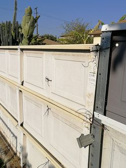metal board garage door yard sale for Sale in Rosemead,  CA