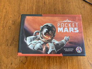 Pocket mars board game for Sale in Mentor, OH