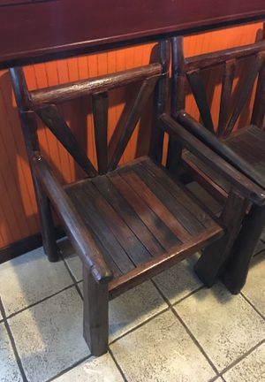 Teak wood bench chair table for Sale in Everett, WA