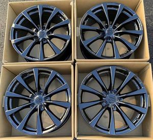 """19"""" Infiniti G37 factory wheels rims gloss black staggered for Sale in Santa Ana, CA"""