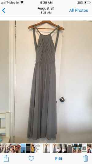 Grey bridesmaids dress for Sale in Tacoma, WA