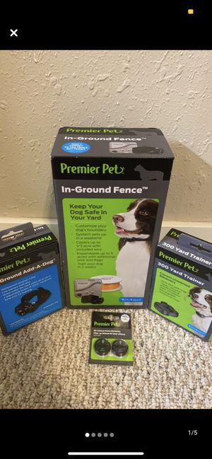 Premier Pets inground electric dog fence for Sale in Wardsville, MO