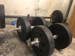 Weight set for Sale in East Bridgewater, MA