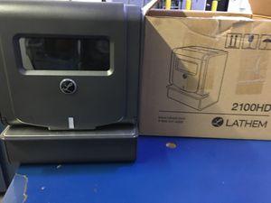 Lathem Time Clock Thermal Print Black 2100HD for Sale in Pomona, CA