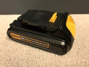 Brand new DEWALT 20V MAX Battery, Premium 1.3Ah (DCB207) for Sale in Temple City, CA