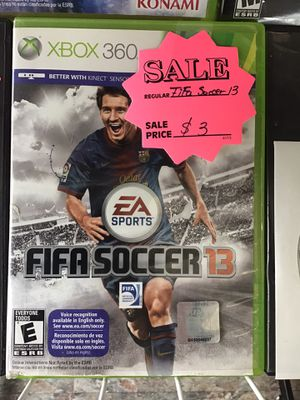 FIFA Soccer 13 $3 obo (Rj Cash Pawnshop 2505 Nw 183rd St) for Sale in Miami Gardens, FL
