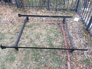 Twin metal bed frame for Sale in Denver, CO