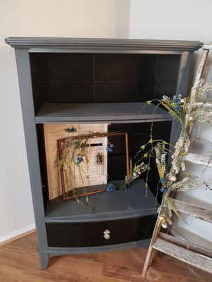 Grey and Black Cabinet Shelf for Sale in Plano, TX