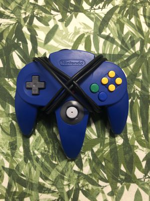 Blue Controller (Nintendo 64) N64 - Authentic - Cleaned & Tested for Sale in Warwick, RI