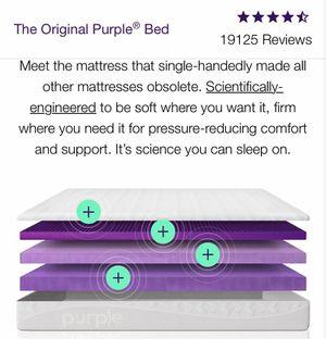 Queen Purple brand mattress and Platform - FREE for Sale in Destin, FL