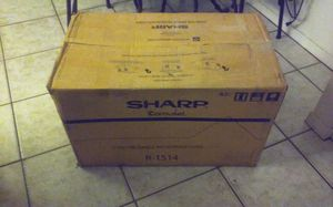 **BRAND NEW IN BOX** 1.5 CU. FT. 1000W SHARP STAINLESS STEEL OVER-THE-RANGE CAROUSEL MICROWAVE OVEN for Sale in Tamarac, FL