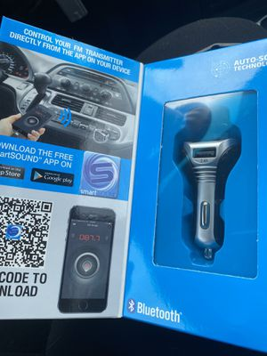 Bluetooth fm transmitter for Sale in Akron, OH