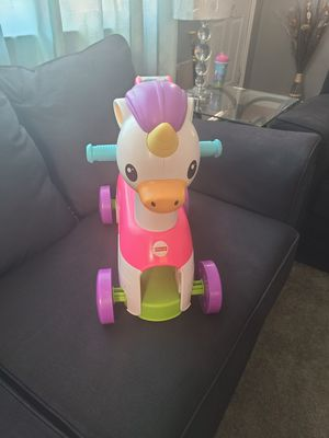 Unicorn ride on toy for Sale in Glen Burnie, MD