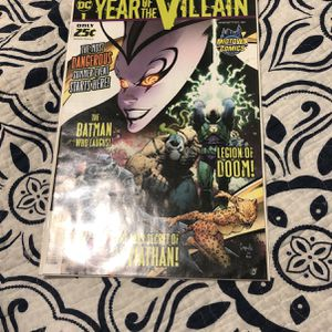 DC Year of the Villain Special #1 CGC 9.8 First 1st Print Capullo Cover Edition for Sale in Queens, NY