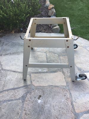 Table Saw Stand with Wheels for Sale in Carlsbad, CA
