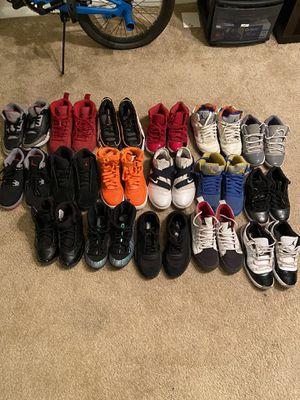 Kids Size 3Y Shoes Lot (Jordan, Nike, Vans) for Sale in Alexandria, VA