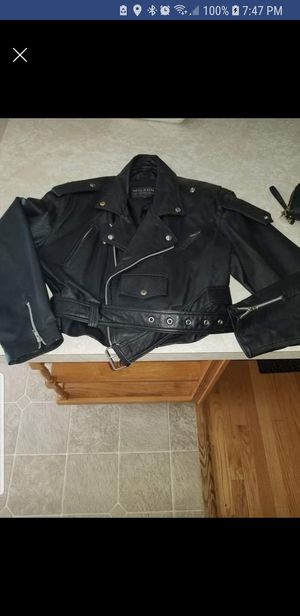 Wilson's women's leather biker coat for Sale in Severn, MD
