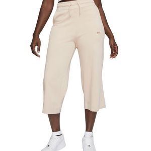 Nike Sweatpants Tan Wide Leg Cropped M for Sale in College Park, GA