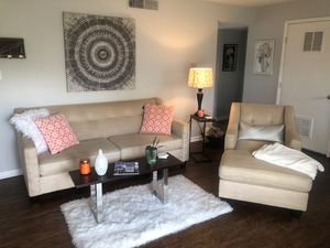 Beige Couch and Lounge Living Room Set for Sale in Lexington, KY
