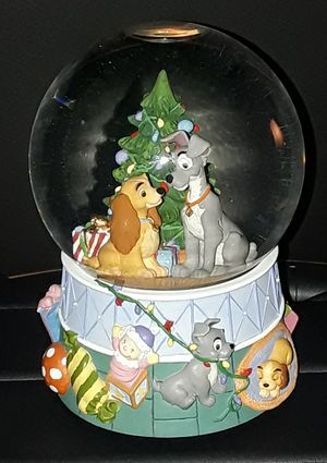 LADY AND THE TRAMP SNOWGLOBE for Sale in Covina, CA