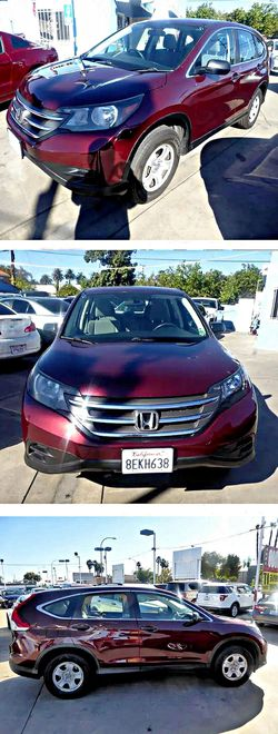 2013 Honda CRVLX 2WD 5-Speed AT for Sale in South Gate,  CA