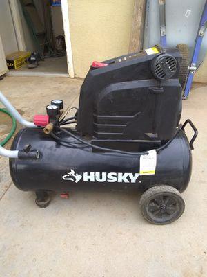 Husky air compressor for Sale in Sanger, CA