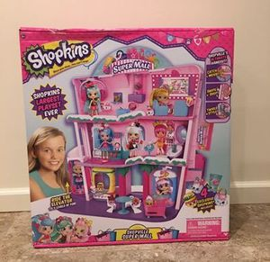Shopkins Shoppies Shopville Super Mall - (New in Box) for Sale in Ashburn, VA