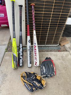 Baseball Bats Gloves for Sale in City of Industry,  CA