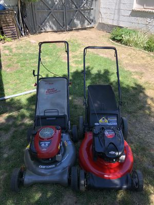 Lawn mowers(with dust blockers) for Sale in Aurora, CO