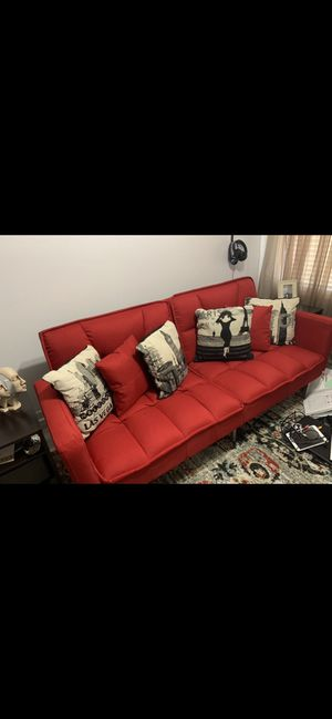Red Futon Sofa Bed for Sale in Kissimmee, FL