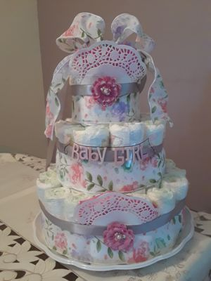 Diaper cake for Sale for sale  Fort Lauderdale, FL