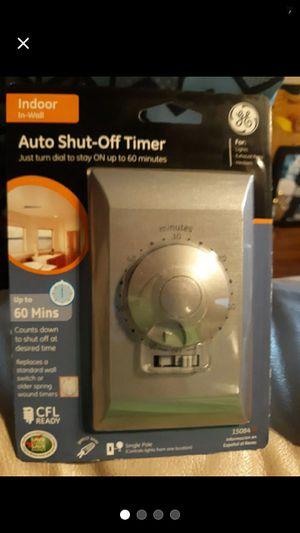 Auto shut-off timer(2) for Sale in New Canton, VA