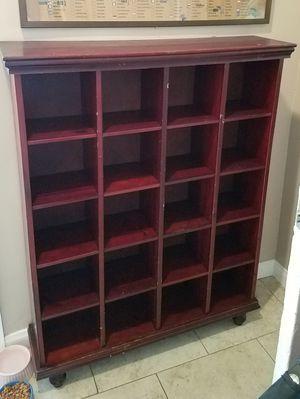 Curio bookcase OR cd/dvd storage for Sale in Hazard, CA
