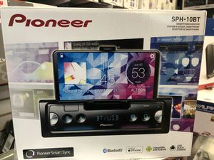 Pioneer sph-10bt in-dash stereo smartphone receiver on sale today for only 139 for Sale in Los Angeles, CA