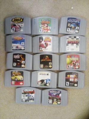 Nintendo 64 Games for Sale in Greenbelt, MD