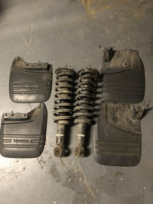 Tundra parts shocks and mud flaps for Sale in San Diego, CA