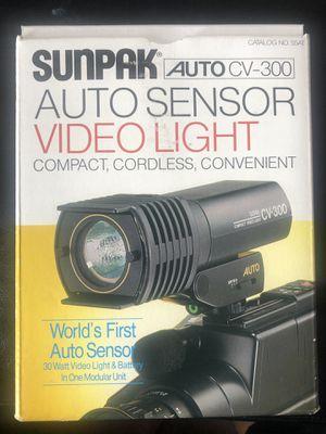 Auto Sensor Video Light for Sale in Everett, MA