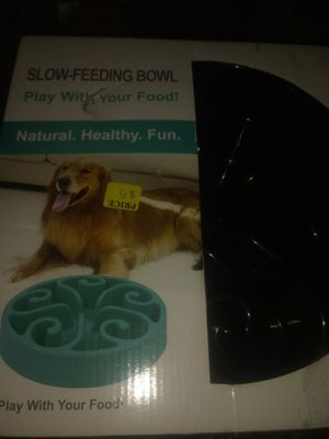 Slow feeding bowl for Sale in Lancaster, CA