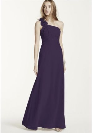 One Shoulder Purple Maxi Dress / Bridesmaid Gown for Sale in Philadelphia, PA