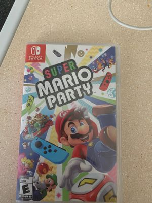 Nintendo switch Super Mario party for Sale in Murray, UT