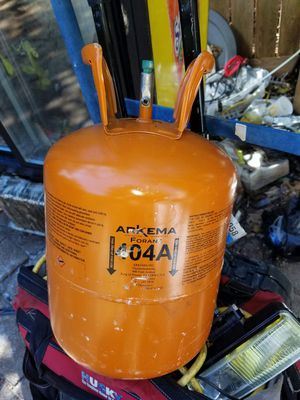 404a used one on a 1/4 horse compressor for Sale in Atlanta, GA