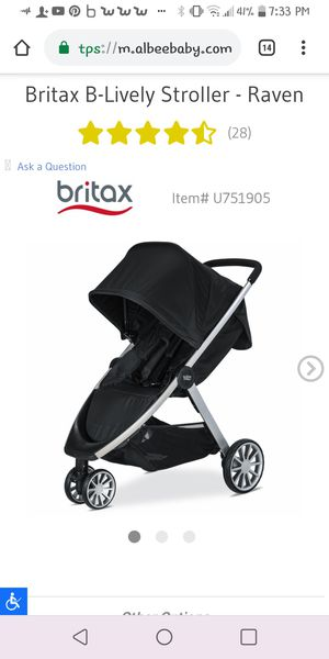 Britax stroller for Sale in Wenatchee, WA