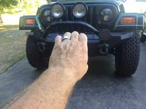 Jeep Wrangler front bumper. for Sale in Lancaster, OH