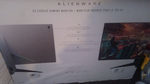 Alienware 4k curved screen for Sale in Houston, TX