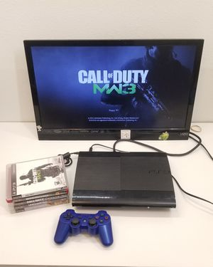 Sony PlayStation 3 PS3 Super Slim 250 GB for Sale in Los Angeles, CA