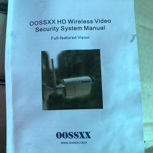 4 Set Security Cameras for Sale in Littlerock, CA