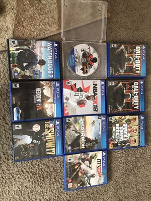 PS4 GAMES for Sale in Allentown, PA